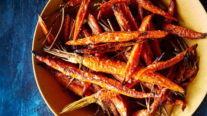 roast carrots restaurants, Easter dinner ideas-1