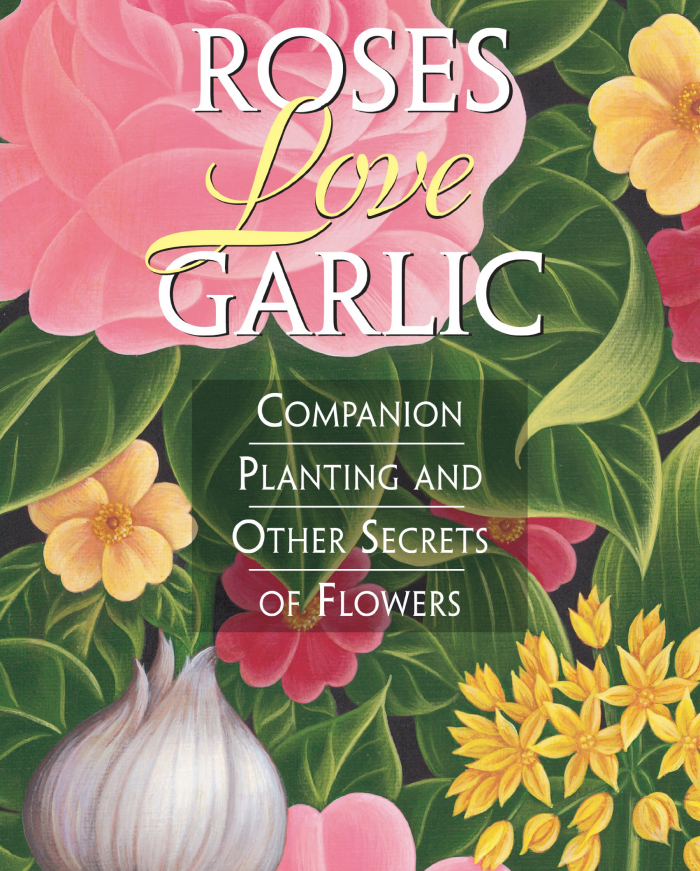 Roses & garlic plants book