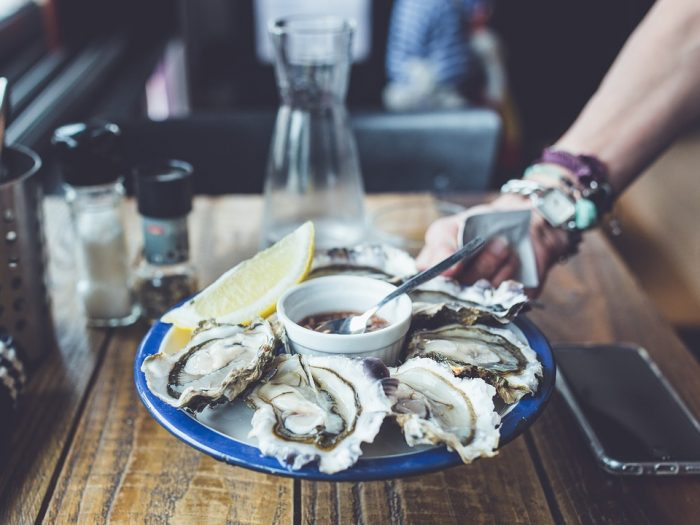 Food Party Oysters Fresh Grow Delicious Luxury